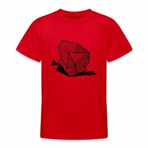 ROCK No 1 b w - Teenager T-shirt