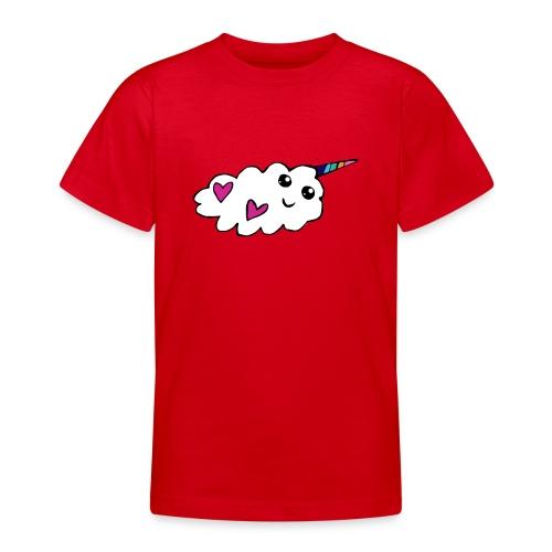 Nuage licorne Kawaii - T-shirt Ado