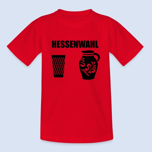 Hessenwahl Apfelwein - Teenager T-Shirt