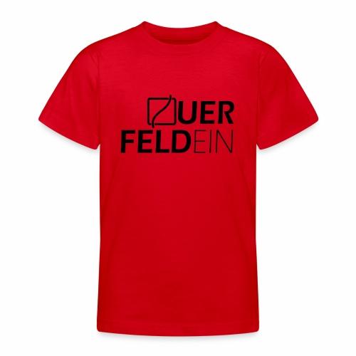 Querfeldein Logo - Teenager T-Shirt