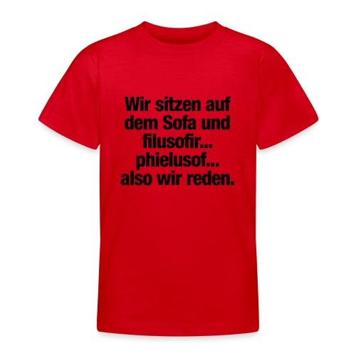 filusofiren - Teenager T-Shirt