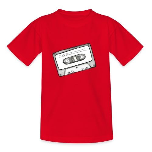 kassette Mix-Tape - Teenager T-Shirt
