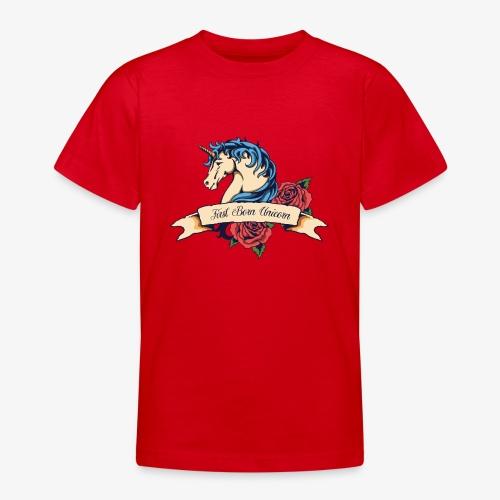Erstgeborenes Einhorn - Teenager T-Shirt