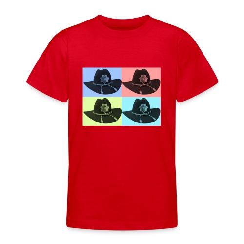cuatro rick - Camiseta adolescente