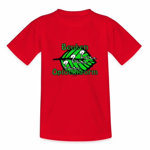 Beuken Optochtworm - Teenager T-shirt