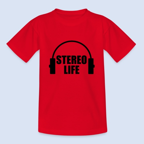 STEREO LIFE - Teenager T-Shirt