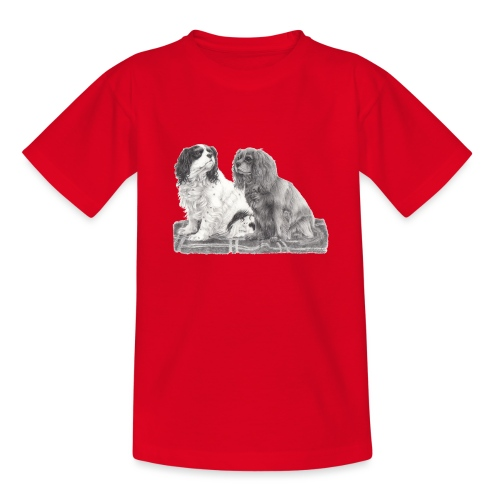 Cavalier King Charles spaniels - Teenager-T-shirt