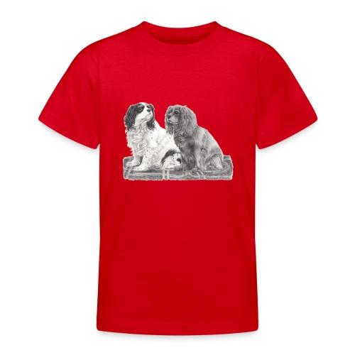 Cavalier King Charles spaniels - Teenager-T-shirt