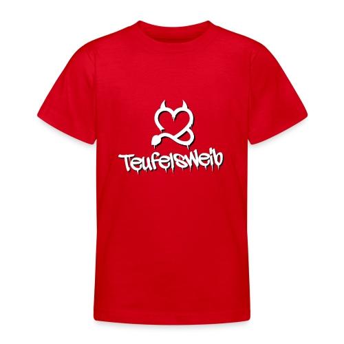 Teufelsweib - Teenager T-Shirt