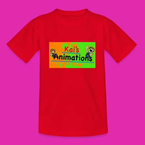 kai's animations logo - Teenage T-Shirt