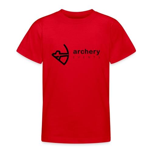 Archery Events Logo - Teenager T-Shirt
