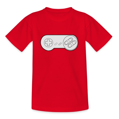 Super NES controller design - Teenage T-Shirt