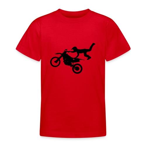 Motocross Bike Aerial Stunt - Maglietta per ragazzi