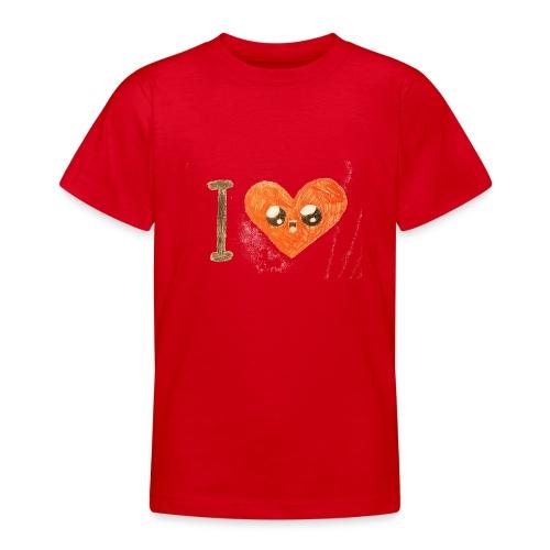 Kids for Kids: heart - Teenager T-Shirt