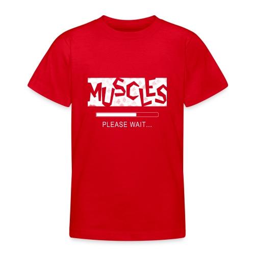 Muscles - Nuorten t-paita