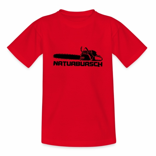 Natuabuasch Motorsäge - Teenager T-Shirt