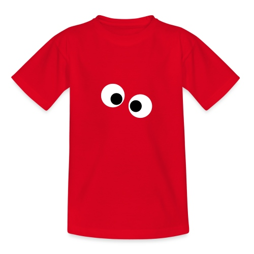 silly eyes - Teenager T-shirt