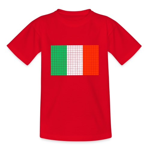 italian flag - Maglietta per ragazzi