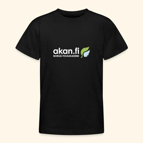 Akan White - Nuorten t-paita