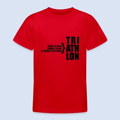 Triathlon Sport Distance - Teenager T-Shirt