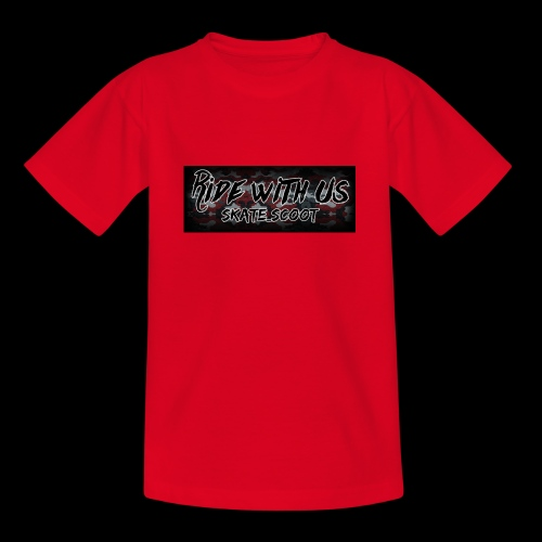 red camo - Teenager T-shirt