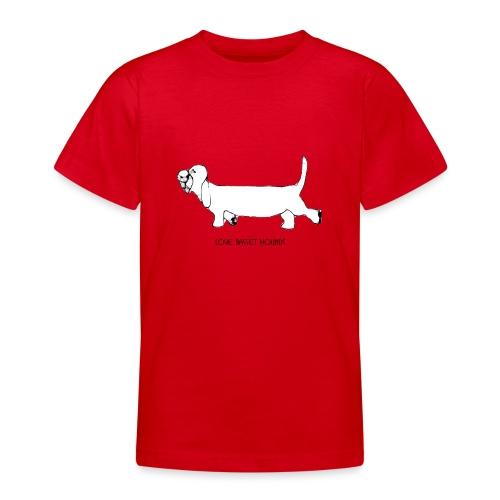 Love basset hounds - Teenager-T-shirt