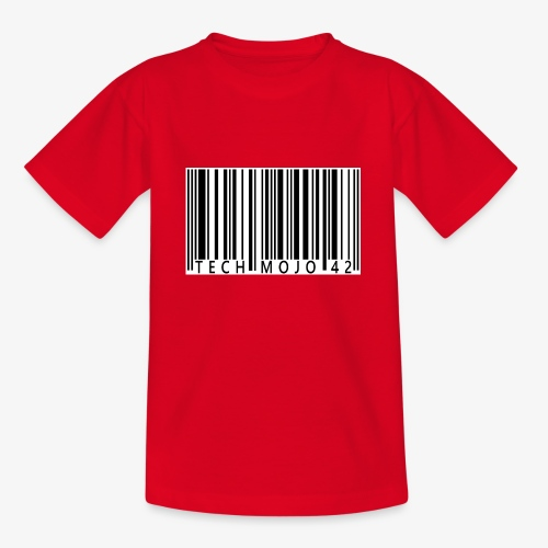 TM graphic Barcode Answer to the universe - Teenage T-Shirt
