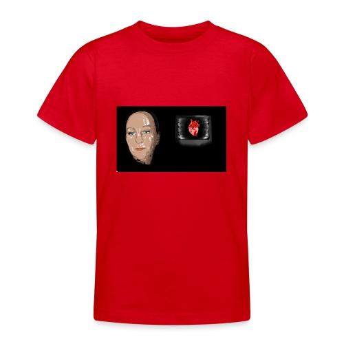 Digital heart - T-skjorte for tenåringer