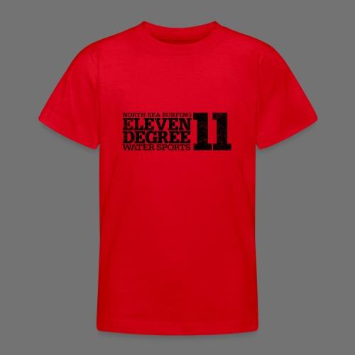 eleven degree black (oldstyle) - Teenage T-Shirt