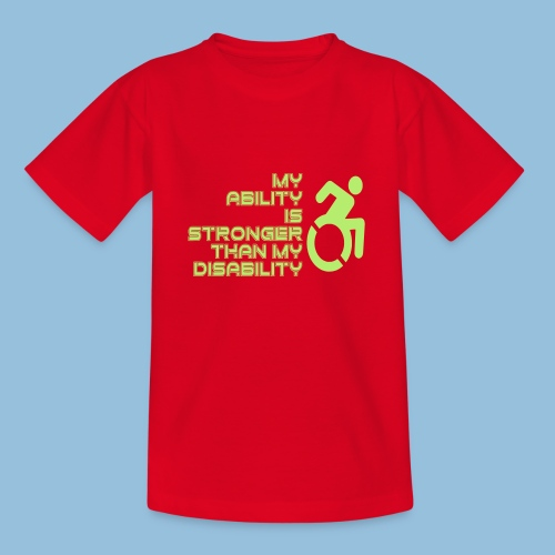 Ability1 - Teenager T-shirt