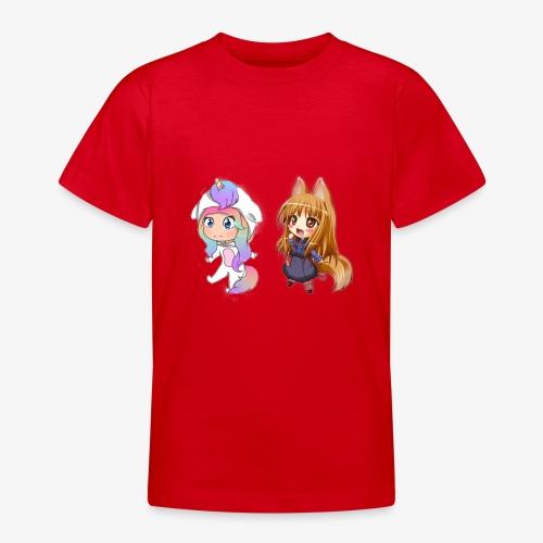 cecilie og jeg - Teenager-T-shirt