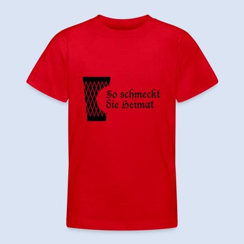 Geripptes mit Biss - Teenager T-Shirt