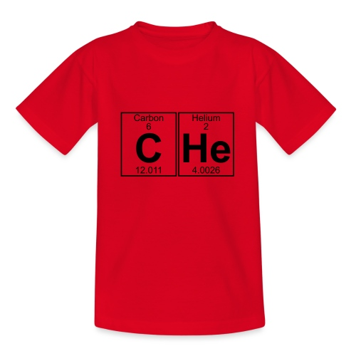 C-He (che) - Full - Teenage T-Shirt