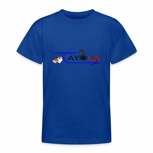 Tayola Black - T-shirt Ado