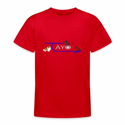 Tayola White - T-shirt Ado