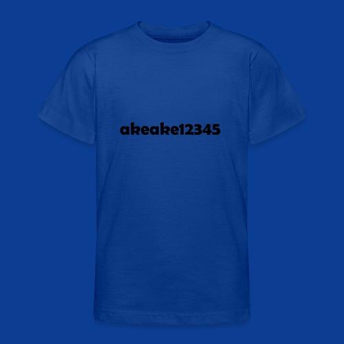 My new shirt - Teenage T-Shirt