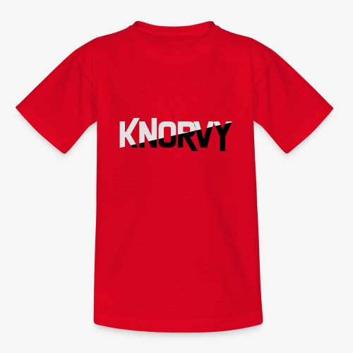 KNORVY - Teenager T-shirt