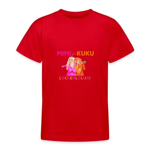 Mimi ja Kuku Lockenlollia - Nuorten t-paita