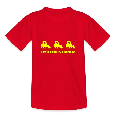 Ryd Christiania - Teenager-T-shirt
