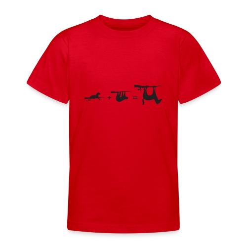 Lui paard Formule Luipaar - Teenager T-shirt