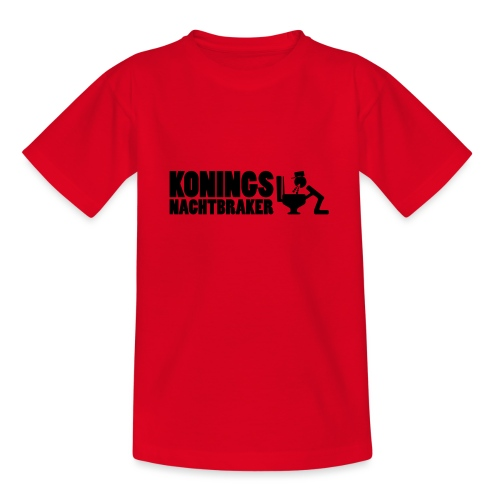 Koningsnachtbraker - Teenager T-shirt