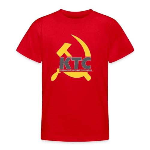 kto communism shirt - T-shirt tonåring