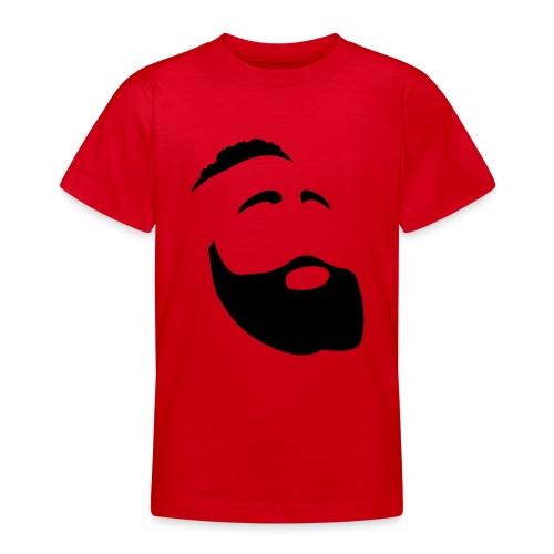 Il Barba, the Beard black - Maglietta per ragazzi