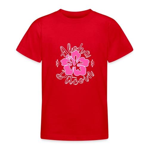 Aloha Bitcoin! - Camiseta adolescente
