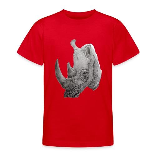 rhino - Teenager-T-shirt