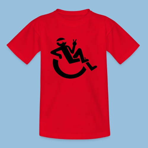 Happyweelchair1 - Teenager T-shirt