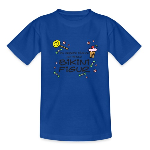 Bikinifigur - Teenager T-Shirt