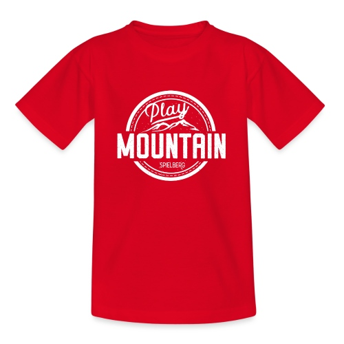 Play Mountain White Edition - Teenager T-Shirt