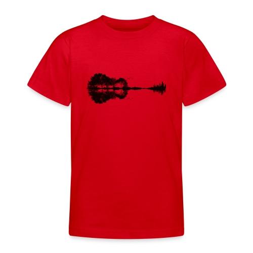 City of Guitar - Teenager T-Shirt