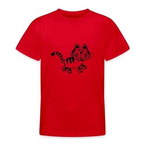 Friendly Cat - Teenager T-Shirt